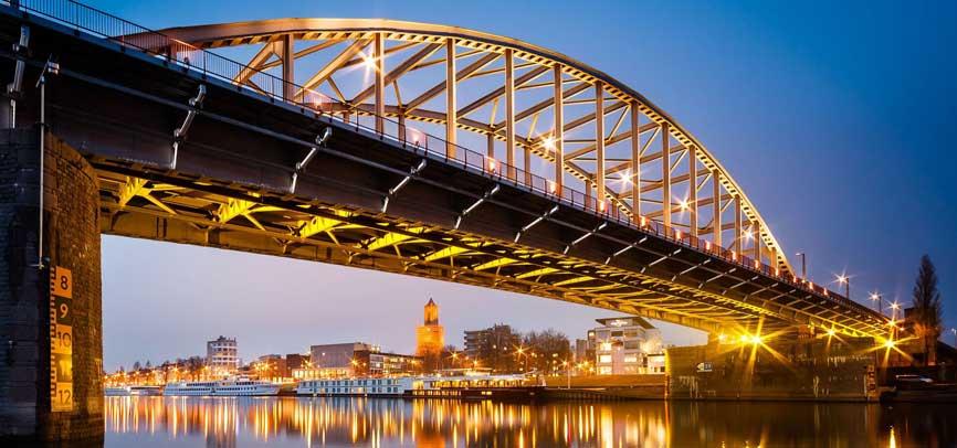 Uitzicht op Arnhem