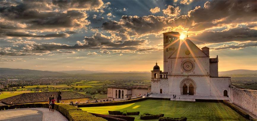 landschap Assisi