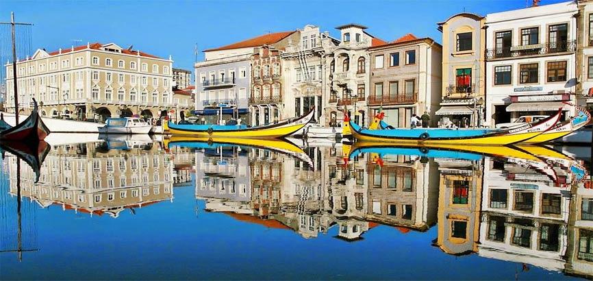 kanaal in Aveiro