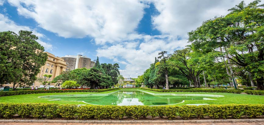 Belo Horizonte stad uitzicht
