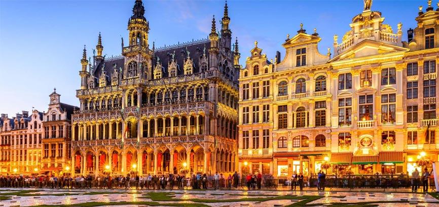 Brussel Hoofdstedelijk Gewest stad uitzicht