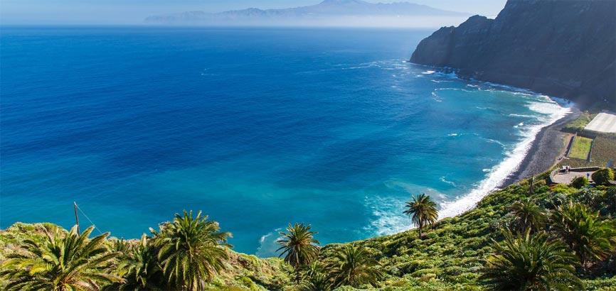 Canarische eilanden Kust