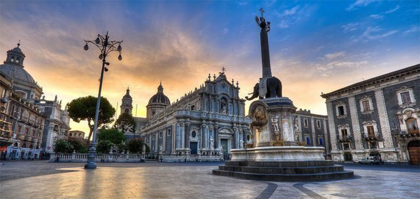 Binnenstad Catania