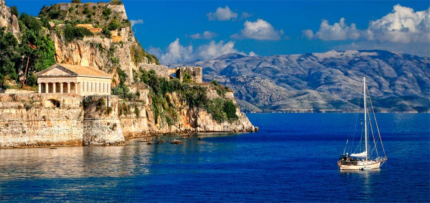 Kust van Corfu