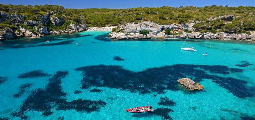 Strand en zee De Balearen