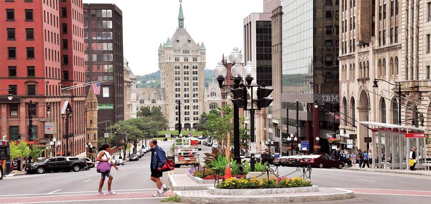 Downtown in Albany