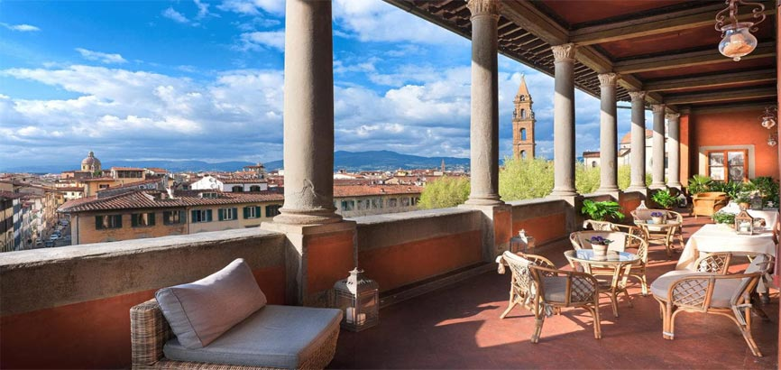 Uitzicht op stad Florence