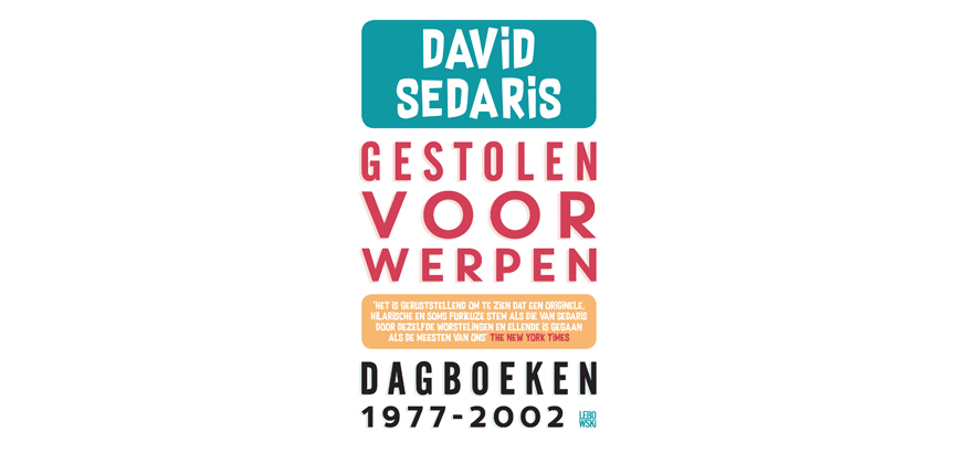 Foto van boek: Gestolen voorwerpen - David Sedaris