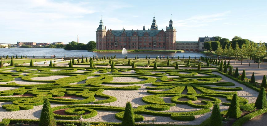 Slot Frederiksborg in Hillerod