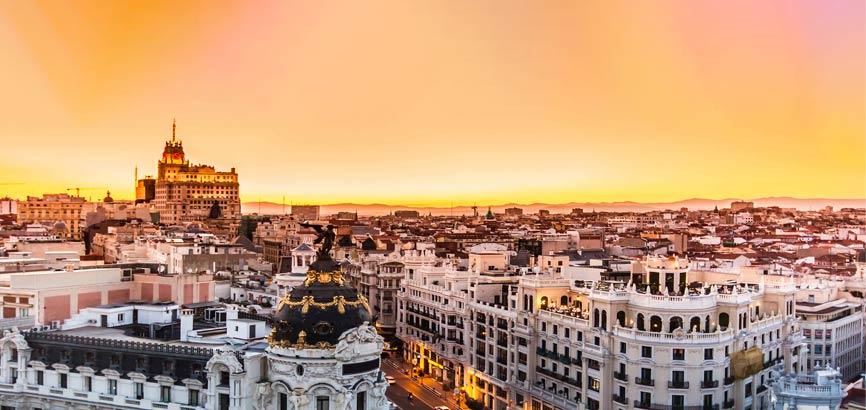 Uitzicht Madrid