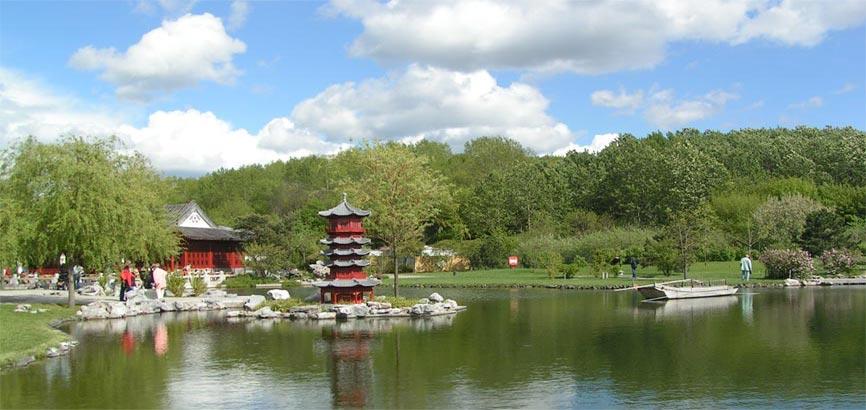 Chinese tuin in Marzahn-Hellersdorf