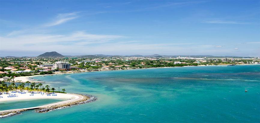 kust van Oranjestad