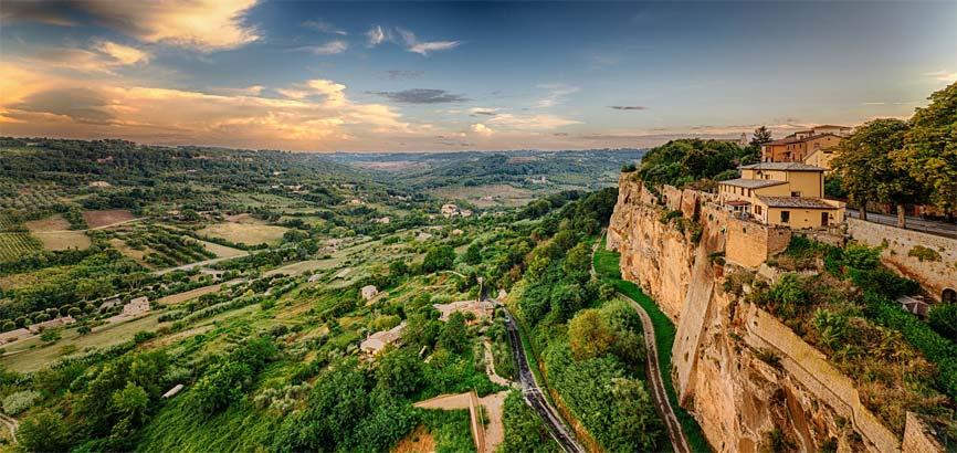 Orvieto landschap