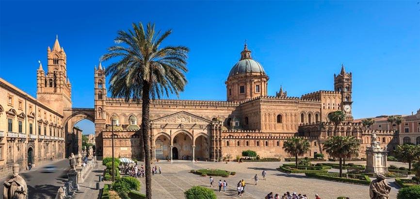 Binnenstad Palermo