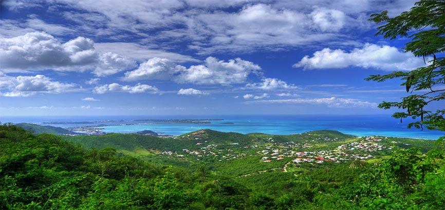 Uitzicht vanaf Pic Paradis