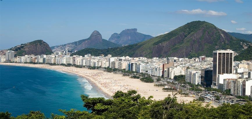 Porto Alegre uitzicht strand