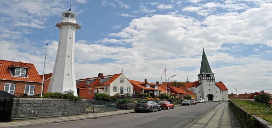 Centrum van Rønne