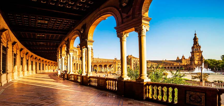 Bezienswaardigheden in stad Sevilla