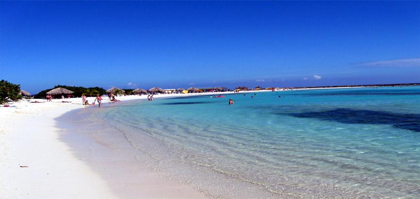 Zee in Sint Nicolaas Aruba