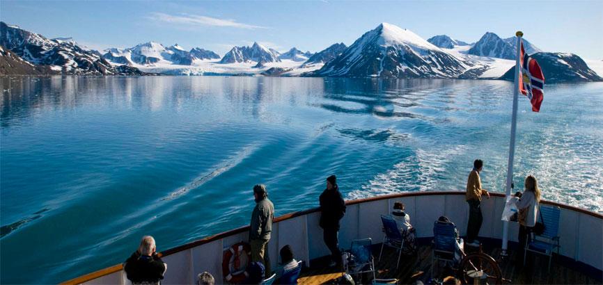 Spitsbergen bootvaart
