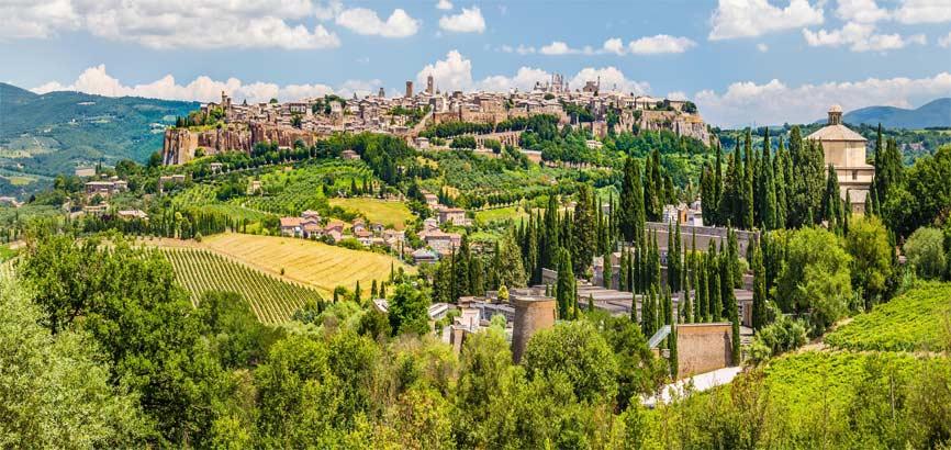 landschap van Umbrië