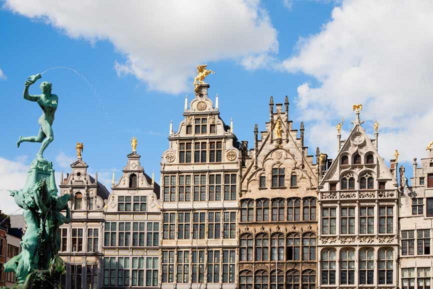winkelstraat in Antwerpen
