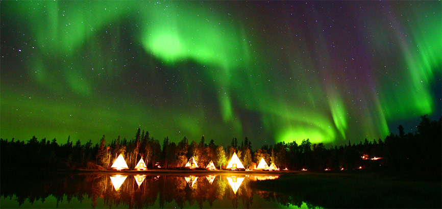 Noorderlicht in Yellowknife