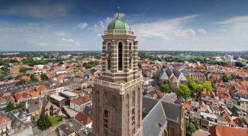 Zwolle behoort tot de mooiste kleine steden van Europa