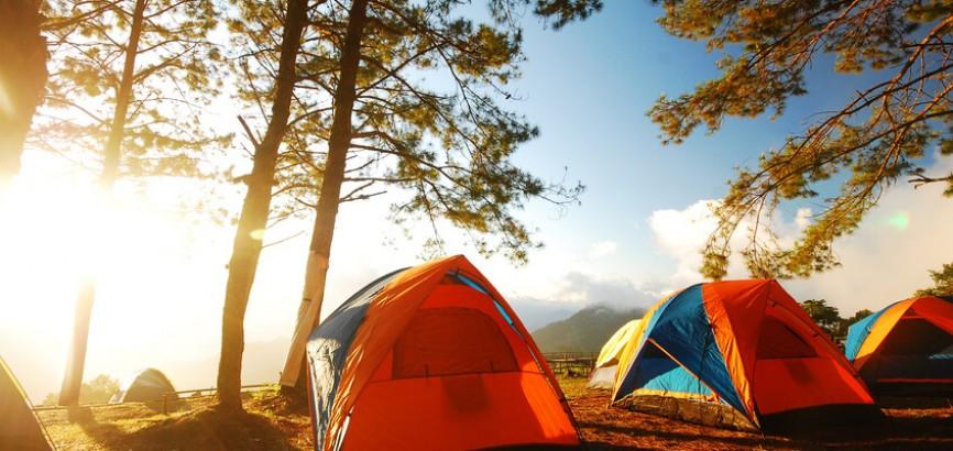 De 5 beste Camping Landen!