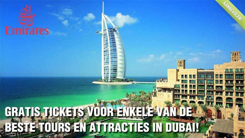 Emirates Kortingscode: Gratis Tickets voor enkele van de beste Tours en Attracties in Dubai!
