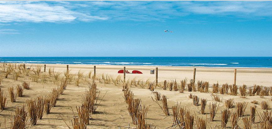 Strand vakantiepark Kijkduin